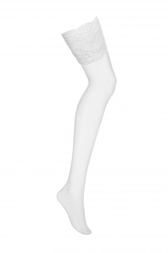 Bas blancs délicats  - 810-STO-2 - color: Blanc