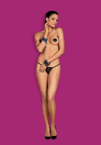 A747  - Menottes sexy - color: Noir