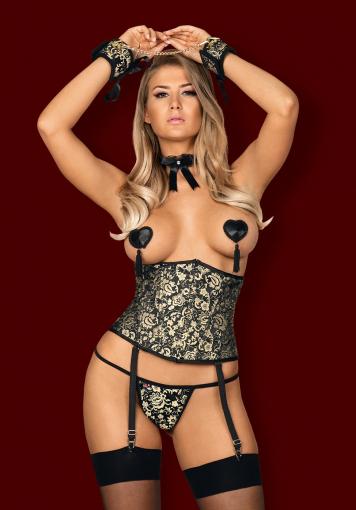 Shelle - Semi corset - color: Autre