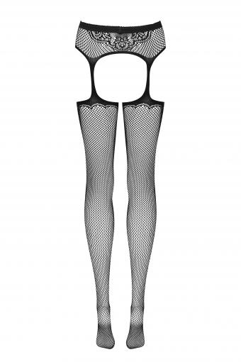 Bas Jarretelles sensuels - S232 - color: Noir