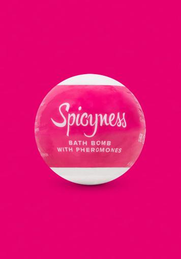 Bombe de bain aux phéromones Spicy - Bombe de bain aux phéromones Spicy 100 g - color: Rose