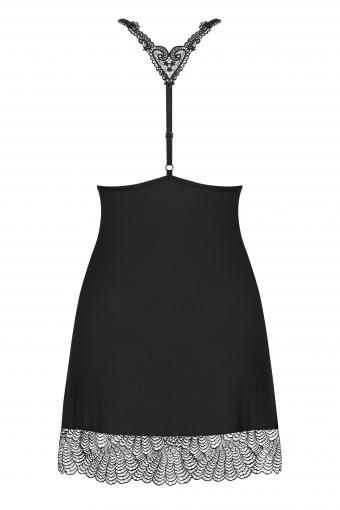 Chiccanta - Nuisette et string noir - color: Noir