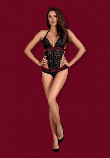 Rossita - Body sensuel en dentelle - color: Noir