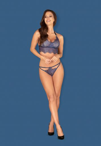 Flowlace - Ensemble bleu sexy - color: Bleu